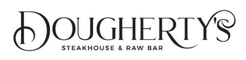 doughertys steakhouse raw bar logo